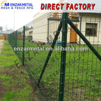 Green Holland Electric Welded Wire Fencing/ main gate designs