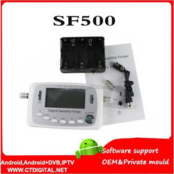 SF500 digital hd satellite finder meter support DVB-S/ DVB-S2 SF-500 easy find sat tv finder