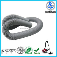 grey steel wire pvc collapsible plastic pipe