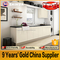 Guangzhou Foshan fatory low price wholesale modern kitchen cabinets(MDF,MFC,flat pack)