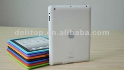 Silicone Rubber Case Guard Protective Cover For New iPad 3 rd Generation