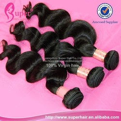 Free shipping, no tangle no shed visso real human hair weave wholesale