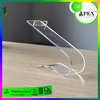 Apex High Quality Transparent Acrylic Sneaker Box /Acrylic Nike Running Shoes Display Rack Manufacturer