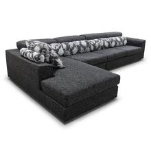 Sala de estar mobiliário l forma sofá de design conjunto de sofá moderno mobiliário preço de fábrica por atacado