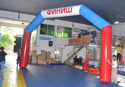 inflatable arch for sports, event, inflatable racing arch, commercial portable inflatable arch for race,