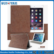 Retro PU Leather Case for ipad air 2, Smart case for ipad air2, for ipad 2 case