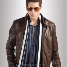 NEW 2015 Mens stylish pu leather jacket
