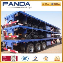 flat bed trailer 60 ton,flat bed trailers for sale,hydraulic flat bed trailer