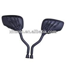 Black Skeleton hand Left&Right Rear Mirrors For MV AGUSTA 1200CORSARO 750 F4 KTM