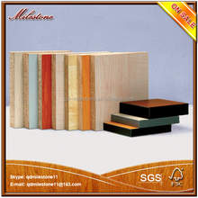 Best price melamine facing wood plates