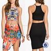 alibaba china online wholesale shop women print sexy mini skirts and mini blouses