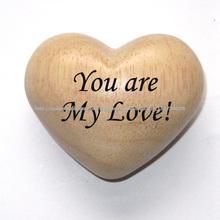 Corazones de madera, regalo de la artesanía de corazones, creativo artesanal de regalo, regalos personalizados
