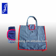 Folding polyester shopping bag