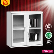 office using metal file cabinet display cabinet with glass sliding door and lock