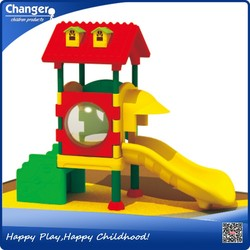 2015 funny and popular beautiful outdoor playground plastic toy