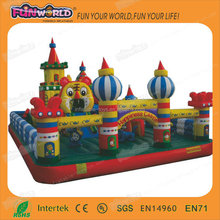 China wholesale inflatable playground equipment,Commercial inflatable fun city