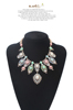 Best Prices!! Crystal Fashion New Design clothing statement necklace