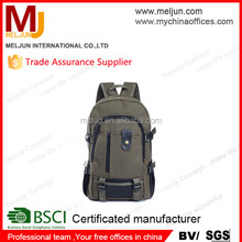 2015 high quality canvas sport climbing backpack