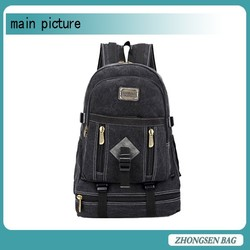 high quality dye canvas backpack cheap canvas backpack