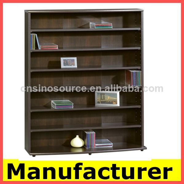 El dise o moderno de madera se utiliza librer as - Estanterias diseno para libros ...