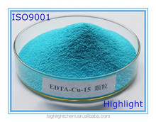 Copper chelated 15% organic fertilizer EDTA water soluble fertilizer