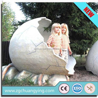 2014 Hot sale simulation cute and life-like dinosaur egg