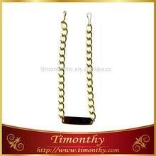 Garment decorative clasp simple chain necklace