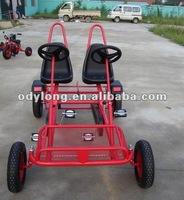 Fashion family pedal go kart, four wheel surrey bike with CE F2150