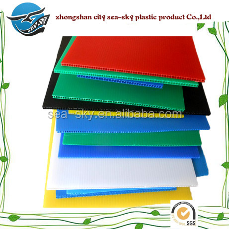 High Quality PP Hollow Sheet/ pp corrugated plastic