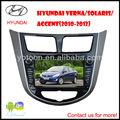 YOTOON alta definición reproductor de DVD del coche con los gps para Hyundai Verna Accent con alta especificación