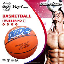 new custom printing rubber basketball