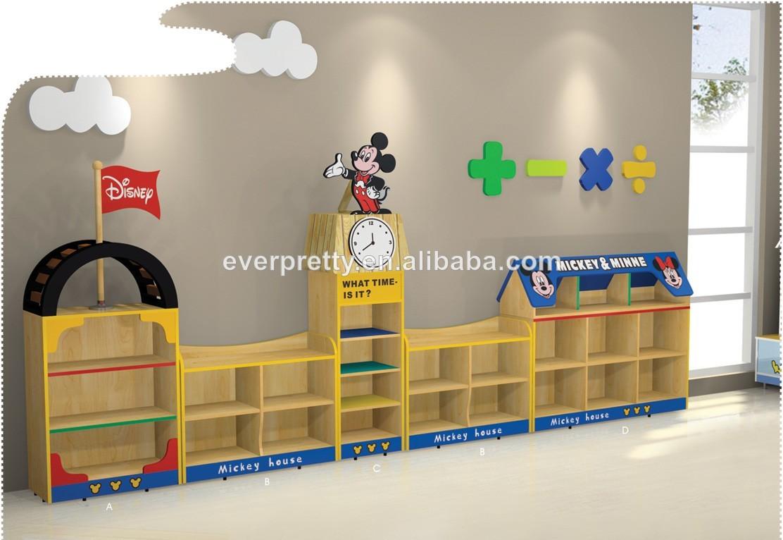 Armoire de rangement en bois enfants meubles mobilier - Meuble de rangement enfants ...