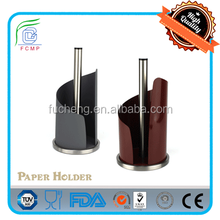 BSCI factory New shape -- screw-type paper roll holderin claret red color