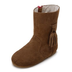 fashion new trend flat split leather boots for women