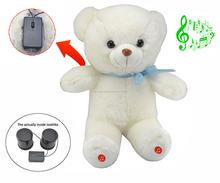 Mini juguete electrónico bluetooth relleno de música para regalo de los niños