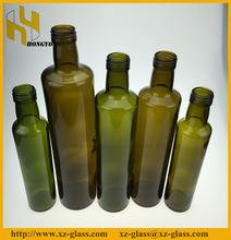 High quality olive oil glass bottle in stock