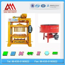 Energy saving and cost reducing QT4-40 clay brick making machine for sale in usa