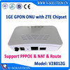 Fiber to the home network supplier ZTE Chipset GPON ONU