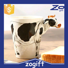 ZOGIFT Cartoon Animation Wholesale 3D Lenticular 350Ml Ceramics Cup
