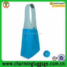 hot selling foldable ball shape shopping nylon bag