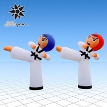 Taekwondo cartoon dolls inflatable inflatable Show Model(BMLD3891)