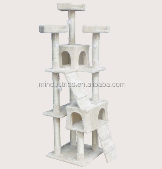 Wooden Cheap Cat Scratcher Cage For Sale Luxury Wooden Cat