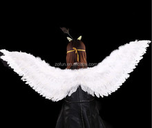 Wholesale fashional fancy Childern white feather angel wings