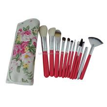 China factory custom logo makeup brushes
