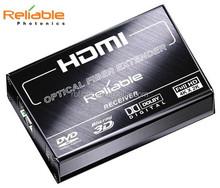 HDMI optical audio converter Reliable Photonics with fiber over single 300m fiber cable kvm switch extender