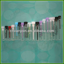 Glass Perfume Tester Vials with PE Plugs 1ML 2ML 3ML 4ML 5ML 10ML