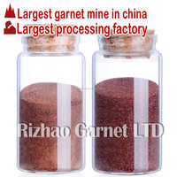 RZG almandine garnet sand blasting 30/60mesh for sa3 surface preparation quality