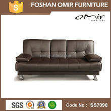 PU Leather Sofa Cum Bed With Coffee Table