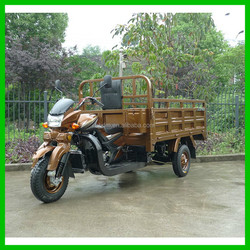 Full Floating Rear Axle Three-Wheel Motorcycle with Wheel Cover