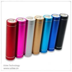 Hot selling legoo lipstick power bank lcd screen powerbank china supplier